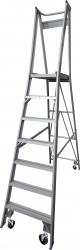 Platform Ladder Aluminium-7 Step