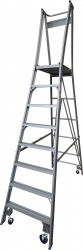 Platform Ladder Aluminium-8 Step