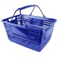 32L Blue Shopping Basket - Pk.12
