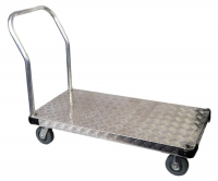 915x610 Aluminium Flatbed Trolley