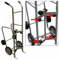 Large Single Drum Hand Truck