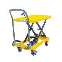 150kg Hydraulic Lift Table Truck