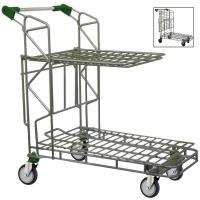 Liquor & Hardware Trolley w/Shelf