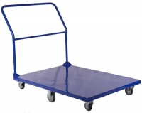 Flatbed Trolley 1200 x 900 - Blue