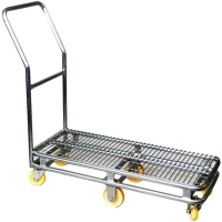 Small Single Tier Stock Trolley