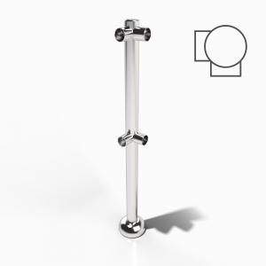 Rail Post Corner Upright Left Hand