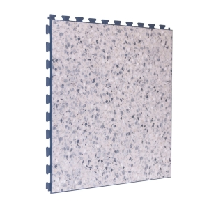 Grey Terrazzo Design Tile - Grey Grout
