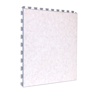 Limestone Design Tile - White Grout