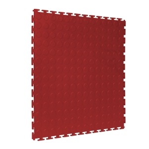 508x508 Open T Join Studded 5mm Maroon