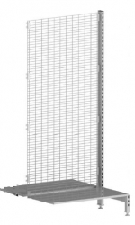 Shelving 2 Side Add Bay 2020 Mesh OGrey