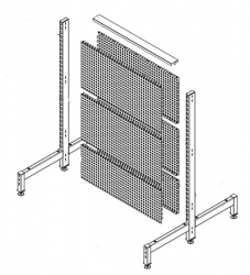 Shelving 2 Side Start Bay 1445 Punch OGr