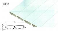 Slat SE 16 Uni PVC 3900mm Charcoal