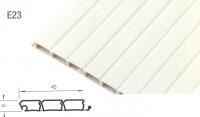Slat SE16 Uni PVC 3900mm White