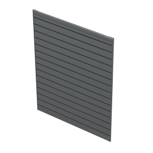 Metal Slatwall | Greystone Powdercoated