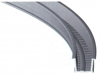 Track Straight Flexible PP 8mm Pair-L&R